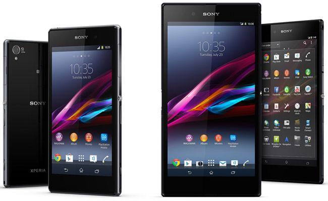 Sony Xperia Z1 y Xperia Z Ultra