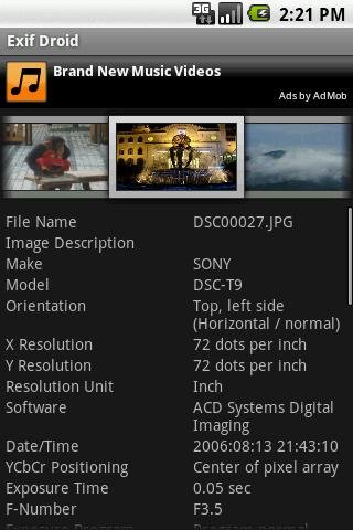 Exif Droid para Android