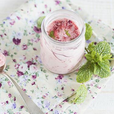Mousse de fresa con menta, receta de postre refrescante y facilísimo