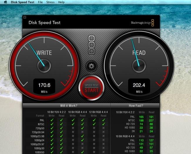 Blackmagic Disk Speed