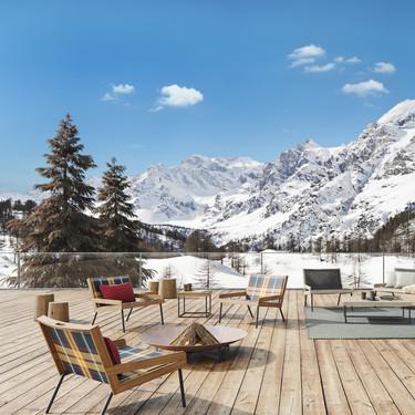 Cinco estilos para otros tantos exteriores exclusivos en la montaña