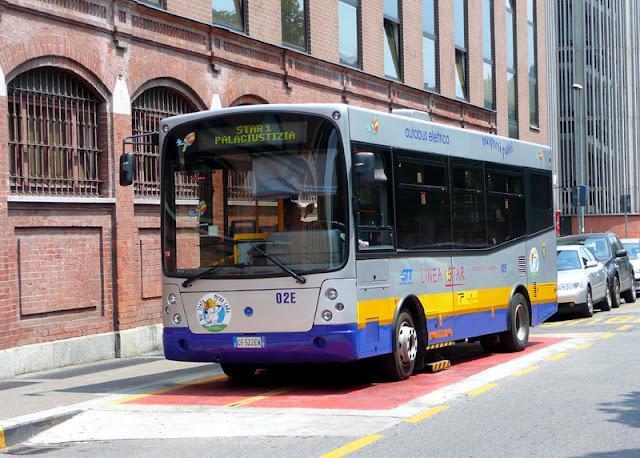 Autobús eléctrico Génova