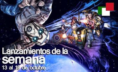 Lanzamientos de la semana en México del 13 al 19 de octubre