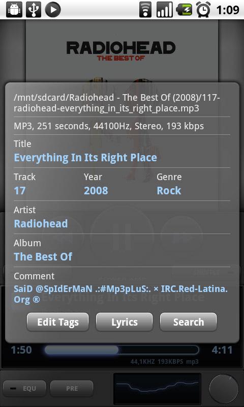 Foto de PowerAmp para Android en imágenes (5/16)