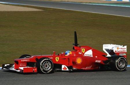 Fernando Alonso cierra los tests de Jerez en primera plaza, pero con pocas vueltas