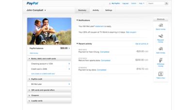 PayPal experimenta con un nuevo diseño para el área de usuarios, ¿qué futuro le espera a la empresa?
