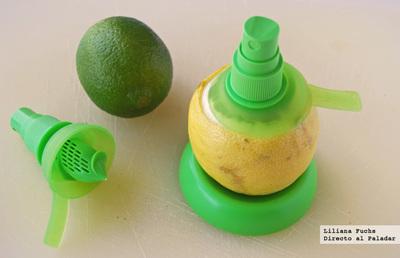 Citrus Spray, añade un toque cítrico a tus platos pulverizando directamente de la fruta