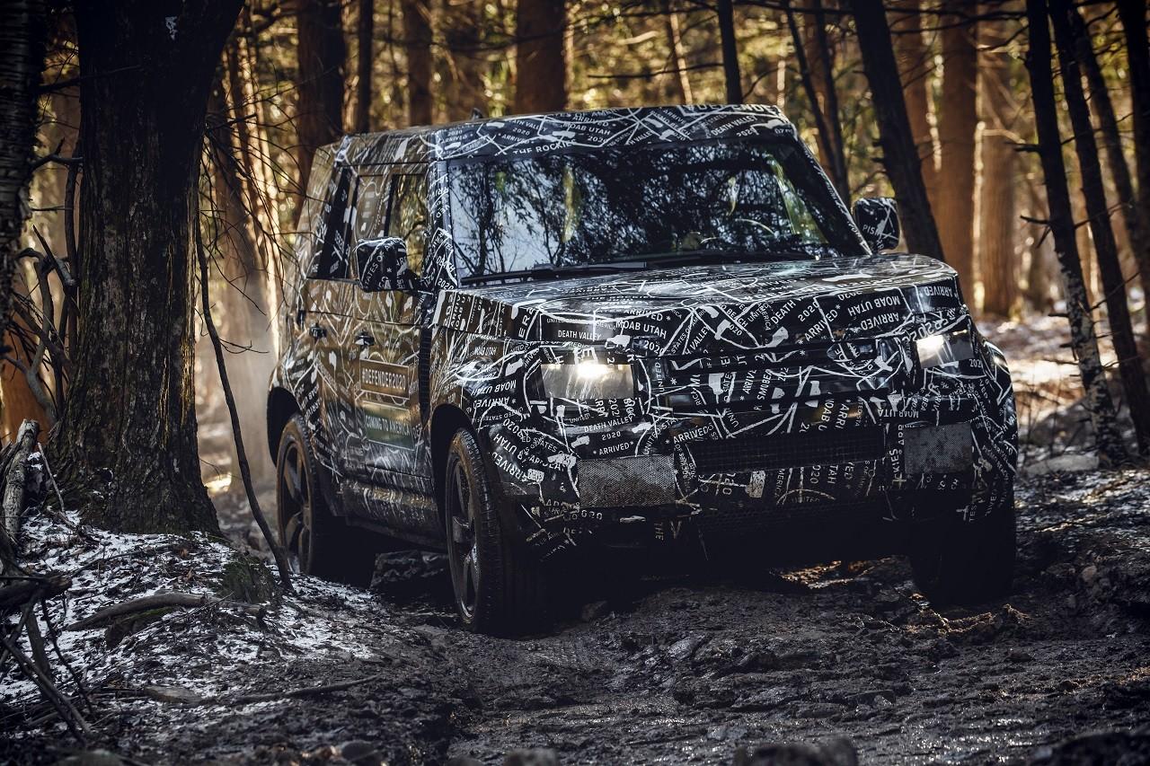 Foto de Land Rover Defender 2020 primeras fotos oficiales (13/24)