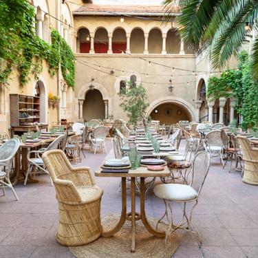 Madrid tiene nuevo restaurante efímero. Y está en una iglesia evangélica en pleno Paseo de la Castellana