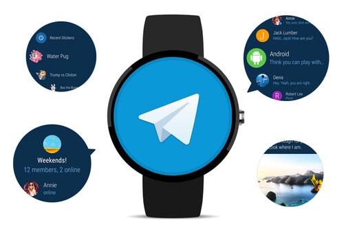 Telegram en miniatura: todo lo que puedes hacer con Telegram en un smartwatch Wear OS