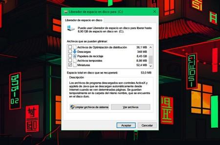 Liberador De Espacio Windows 10