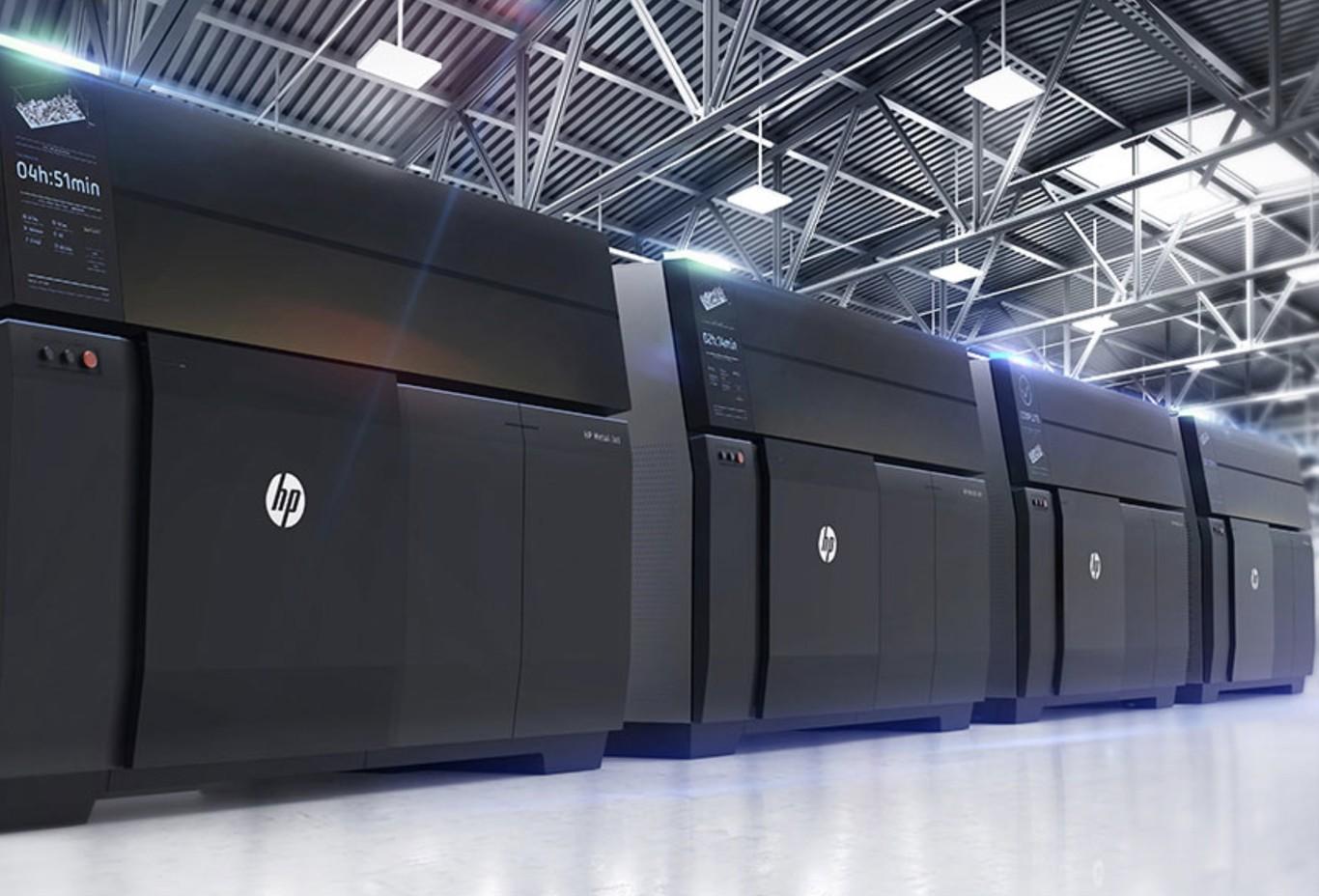 HP tiene una nueva impresora 3D, pero ésta imprime metales y está pensada para fabricar piezas de automóviles