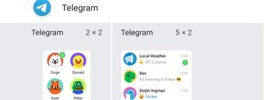 Cómo usar los widgets de Telegram en Android e iOS