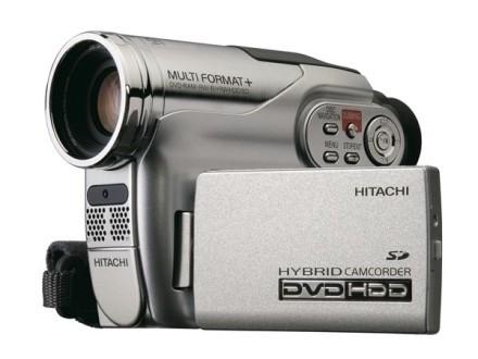Videocámara híbrida HDD/DVD DZ-HS300 de Hitachi