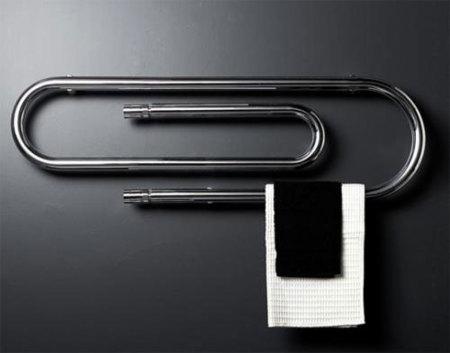 Radiador con forma de clip gigante de Scirocco