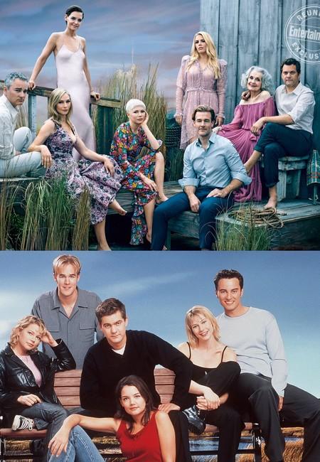 Y Veinte Anos Despues El Cast De Dawson S Creek Se Reune De Nuevo Para Entertainment Weekly