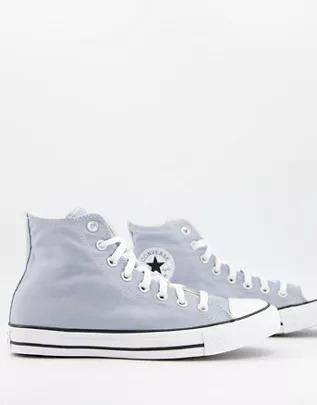 Zapatillas hi-top en bruma obsidiana Chuck Taylor All Star de Converse