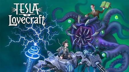 Tesla vs Lovecraft, el enfrentamiento definitivo entre ciencia y monstruos, llegará a Xbox One este mes