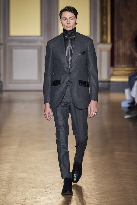 Antonio Grimaldi Fall Winter 2019 Runway Show 05