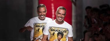 Bruce Lee y la cultura de oriente inspiran el verano de Dean y Dan Caten para Dsquared2