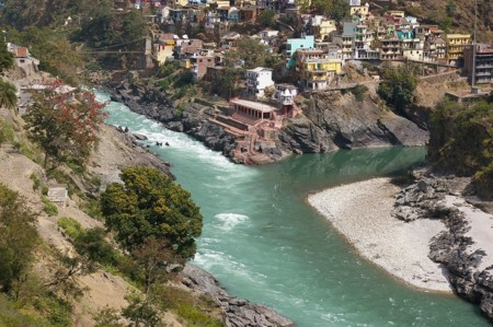 Confluence Of Bhagirathi And Alaknanda