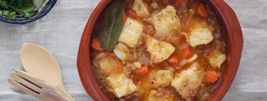 Bacalao en escabeche de azafrán y naranja: el delicioso contraste de sabores en una receta muy tradicional