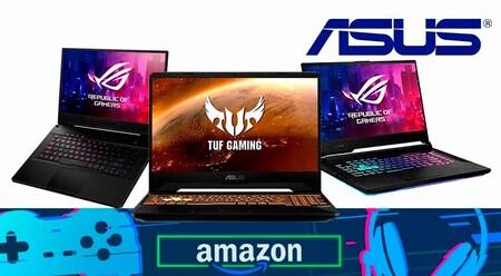 11 portátiles gaming ASUS que puedes comprar más baratos esta semana en Amazon