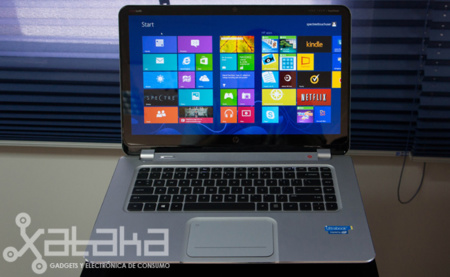 HP Spectre XT TouchSmart Ultrabook, toma de contacto