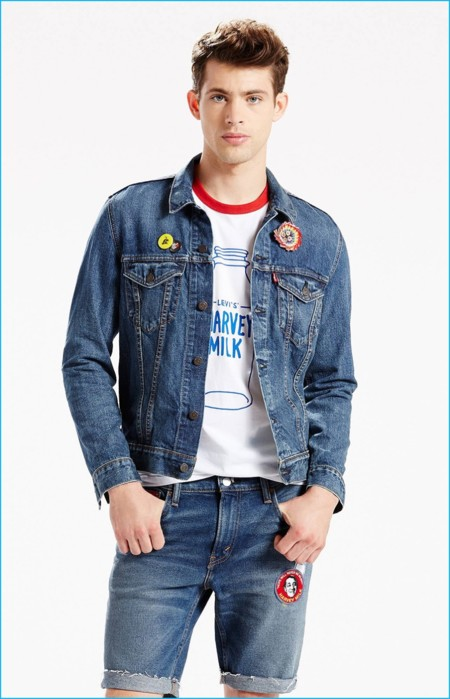 Levis Pride Denim Trucker Jacket