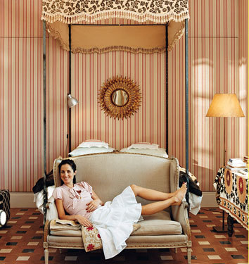 El dormitorio de Carolina Herrera JR
