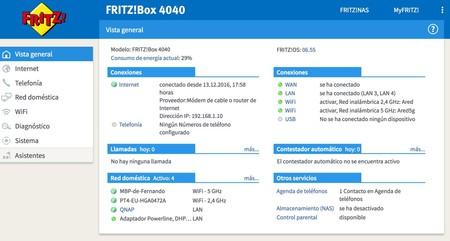 Fritz Box 4040, resumen