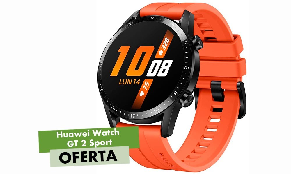 119,29 euros es muy poco dinero por todo lo que ofrece el Huawei Watch GT 2 Sport. Lo tienes a ese precio en AliExpress Plaza usando el código ES08AUG