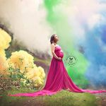 """Después de 6 abortos, esta mujer celebra la llegada de su """"bebé arcoíris"""" con una sesión de fotos espectacular"""