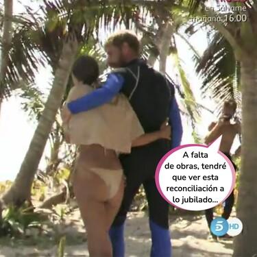 """Tom Brusse se quita el tanga y pide perdón a Melyssa Pinto por su infidelidad en 'La Isla de las Tentaciones': """"No merecías tanto daño"""""""