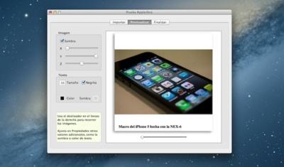 Widgerador, un fantástico generador de widgets con galerías de imágenes para iBooks Author