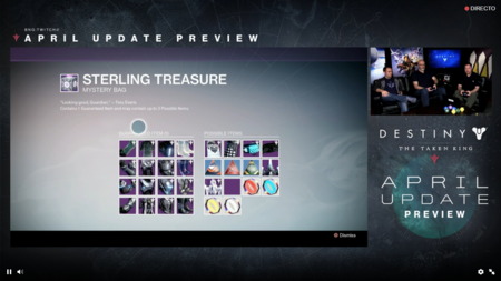 Destiny Actualizacion De Abril 9