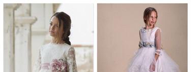 29 vestidos cortos de Primera Comunión para niñas que quieren un traje elegante y original