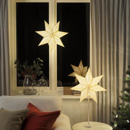 Estrellas de Navidad luminosas