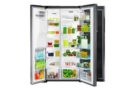 Samsung Premium Collection frigo abierto