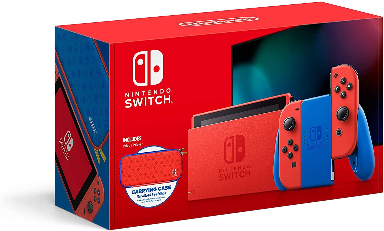 Consola Nintendo Switch 1.1 Edicion Mario - Special Limited Edition