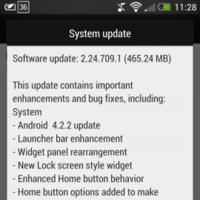 HTC One ya está recibiendo la actualización OTA a 4.2.2