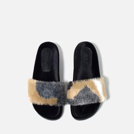 Zapatos Peludos Zara 3