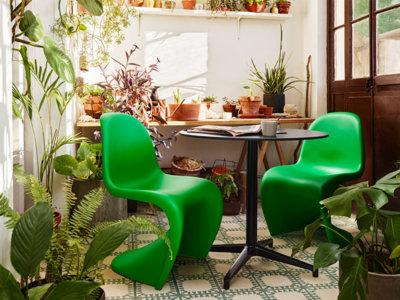 """Tu terraza la quiere: descubre la edición limitada """"Summer Green"""" de la silla Panton"""