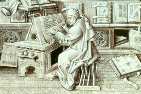 Monje Escritoiro