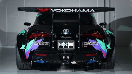 Toyota Supra Drift Hks 5