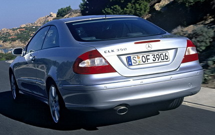 Trasera Mercedes CLK