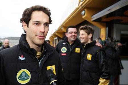 Bruno Senna, tercer piloto de Lotus Renault GP