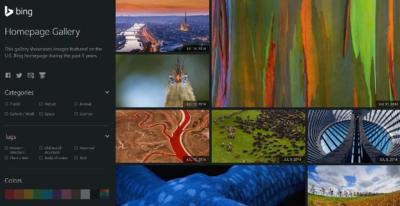 Bing Homepage Gallery, descarga todos los wallpapers que se pueden ver en Bing