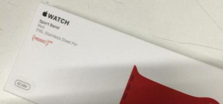 Sport Band Product Red para el Apple Watch, ¿confirmada? Parece que sí