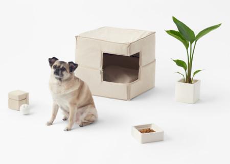 Porque cada uno tiene su estilo, colección de Nendo para mascotas minimalistas